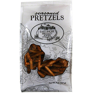 East Shore Specialty Foods Seasoned Pretzels, 12 oz (Pack of 12)