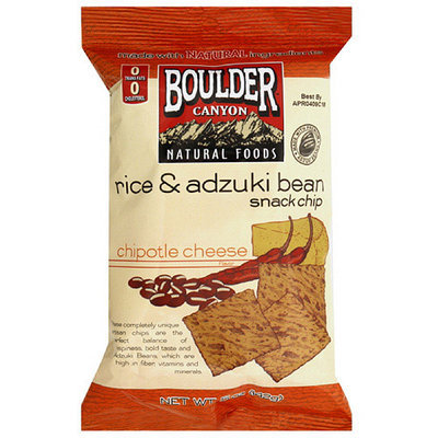 Boulder Canyon Natural Foods Rice Bean Snack Chips, 5 oz (Pack of 12)