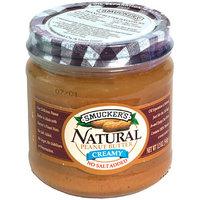 Smucker's Smucker No Salt Natural Peanut Butter, 12 oz, (Pack of 12)