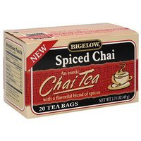 Bigelow Spiced Chai Tea, 20ct (Pack of 6)