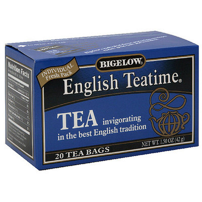 Bigelow English Teatime Tea, 1.50 oz, 20ct (Pack of 6)