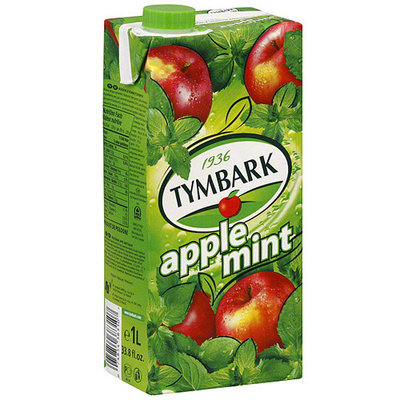 Tymbark Apple Mint Juice, 33.8 oz (Pack of 12)
