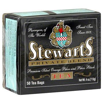 Stewart's Stewarts Orange & Black Pekoe Tea Bags, 50ct (Pack of 8)
