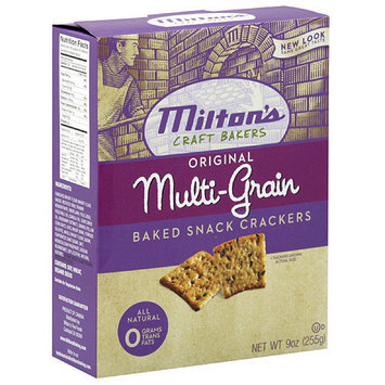 Miltons Milton's Original Multi-Grain Baked Snack Crackers, 9 oz (Pack of 12)