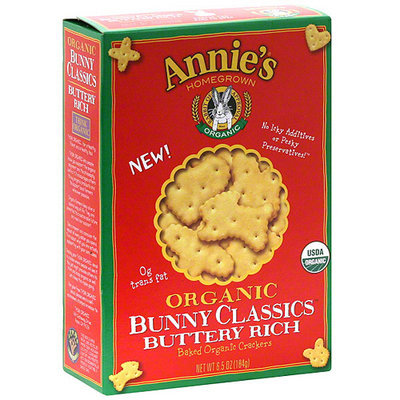 Mary's Gone Crackers Organic Buttery Rich Crackers, 6.5 oz (Pack of 12)