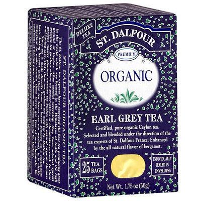 St. Dalfour Organic Earl Grey Herbal Tea Bags, 25ct (Pack of 6)
