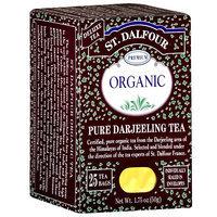 St. Dalfour Organic Pure Darjeeling Tea Bags, 25ct 1.75 oz (Pack of 6)