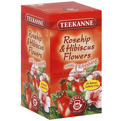 Teekanne Rosehip & Hibiscus Flowers Tea, 20ct (Pack of 10)