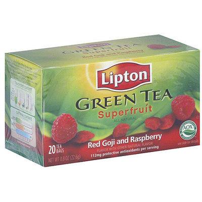 Lipton Red Goji And Raspberry Green Tea, 20ct (Pack of 6)