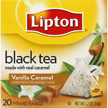 Lipton® Vanilla Caramel Truffle Pyramid Tea Bags