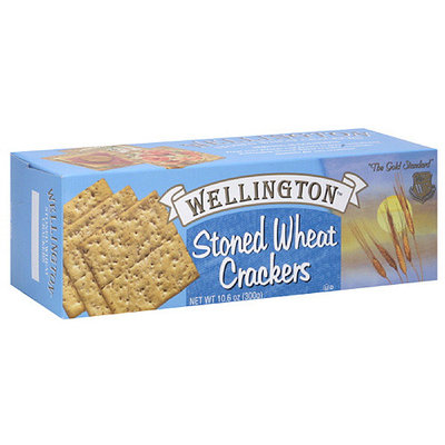 Wellington Stoned Wheat Crackers, 10.6 oz (Pack of 12)