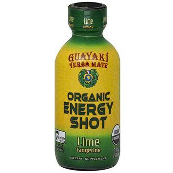 Guayaki Lime Energy Shot, 2 fl oz (Pack of 12)