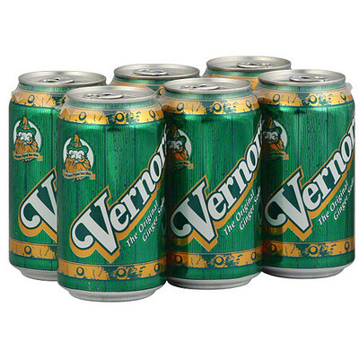 Vernors Ginger Soda, 6ct (Pack of 4)