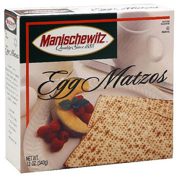 Manischewitz Egg Matzos Crackers, 12 oz (Pack of 12)