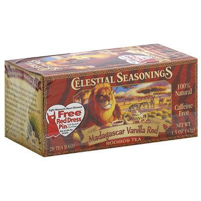 Celestial Seasonings Madagascar Vanilla Tea Bags, 20ct (Pack of 6)