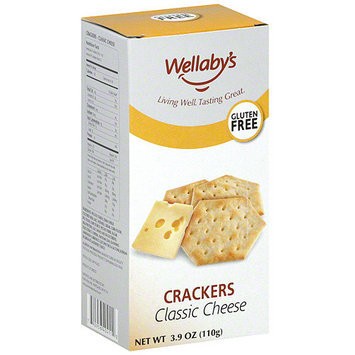 Wellaby's Classic Cheese Crackers, 3.9 oz (Pack of 6)