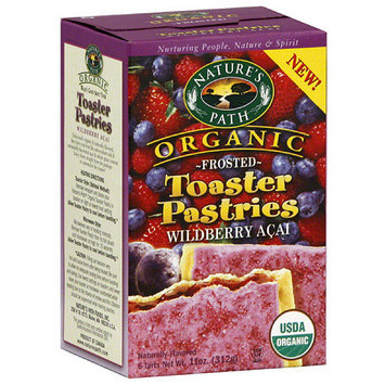 Nature's Path Organic Frosted Wildberry Acai Toaster Pastries, 11 oz (Pack of 12)