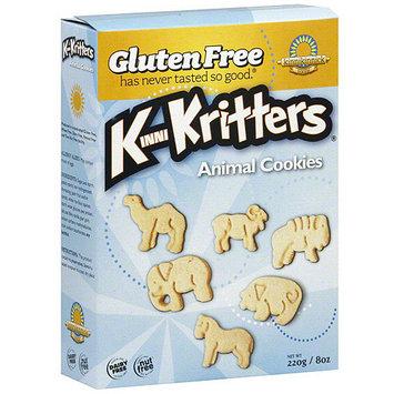 Kinnikritters Animal Cookies, 8 oz (Pack of 6)