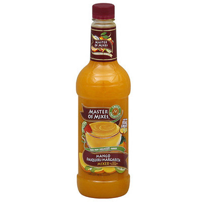 Master Of Mixes Mango Daiquiri/Margarita Mixer, 33.8 oz (Pack of 6)