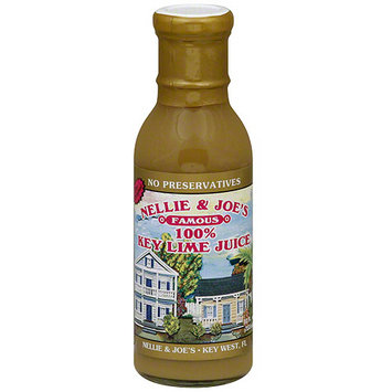 Nellie & Joe's 100% Natural Key Lime Juice, 12 oz (Pack of 12)