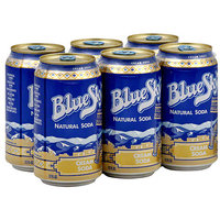 Blue Sky Cream Soda, 72 oz (Pack of 4)
