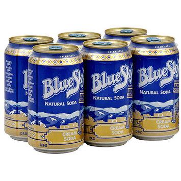 Blue Sky Cream Soda, 72 oz (Pack of 4)