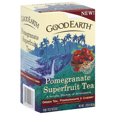 Good Earth Pomegranate Superfruit Tea, 18ct (Pack of 6)