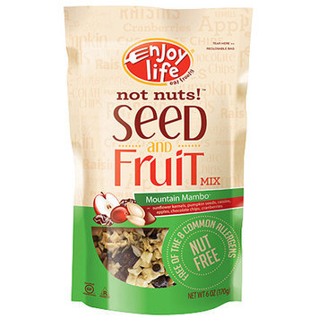Enjoy Life Seed & Fruit Mountain Mambo Trail Mix, 6 oz (Pack of 6)