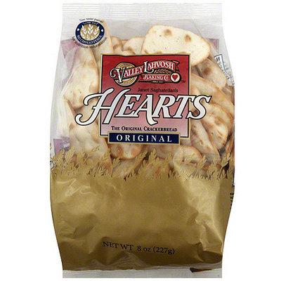 Valley Lahvosh Janet Saghatelian's Hearts Original Crackerbread, 8 oz (Pack of 12)