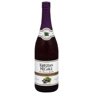 Kristian Regale Black Currant Juice, 750 ml (Pack of 12)