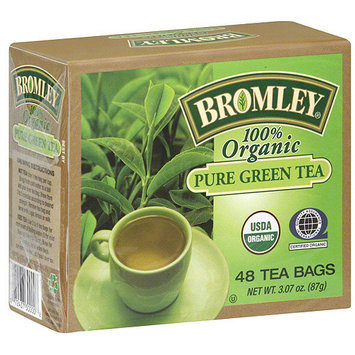 Bromley Organic Green Tea, 48ct (Pack of 12)