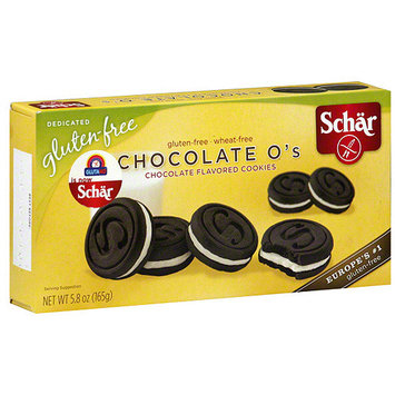 Schar Chocolate O's Cookies, 5.8 oz (Pack of 8)