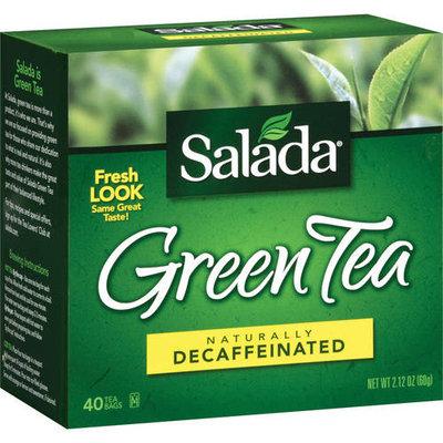 Salada Naturally Decaffeinated Green Tea, 40ct (Pack of 6)