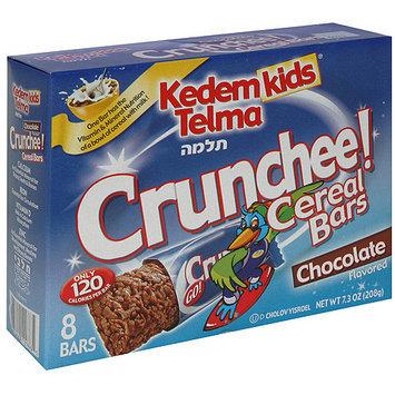 Kedem Kids Telma Crunchee Chocolate Cereal Bars, 8ct (Pack of 12)