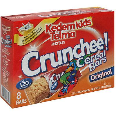 Kedem Kids Telma Crunchee Original Cereal Bars, 8ct (Pack of 12)