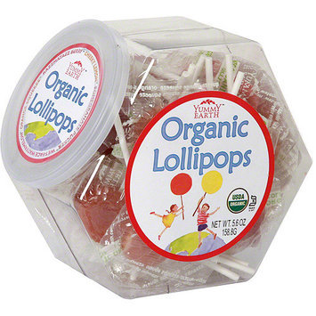 Yummyearth Organic Lollipops, 6 oz (Pack of 10)