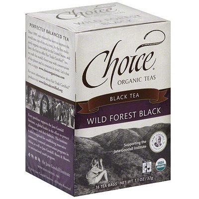 Choice Organic Teas Wild Forest Black Tea, 16ct (Pack of 6)