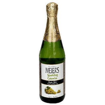 Meiers Meier's Grape Sparkling Catawba 100% Juice, 25.4 oz (Pack of 12)