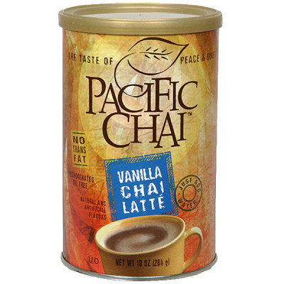 Pacific Chai Vanilla Chai Latte, 10 oz (Pack of 6)