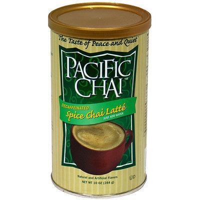 Pacific Chai Decaffeinated Spice Chai Latte Tea, 10 oz (Pack of 6)