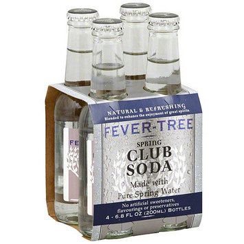 Fever-Tree Spring Club Soda, 6.8FO (Pack of 6)