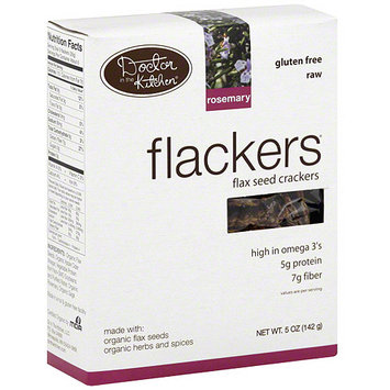 Flackers Rosemary Flax Seed Crackers, 5 oz (Pack of 12)