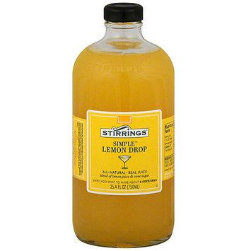 Stirrings Mixer, Lemon Drop Cocktail, 25.4 oz (Pack of 6)