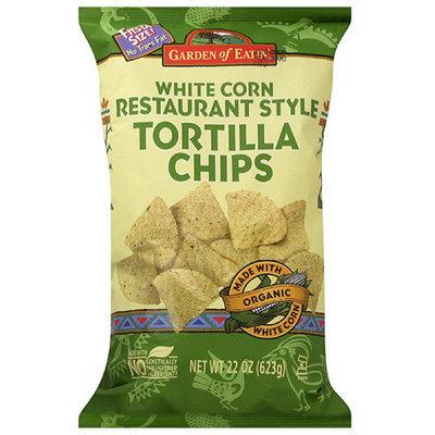 Garden Of Eatin' Restaurant Style White Corn Tortilla Chips, 22 oz (Pack of 10)