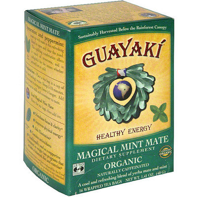 Guayaki Organic Pure Empower Mint Tea, 1.41 oz (Pack of 6)