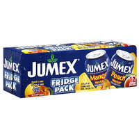 Jumex Mango Peach Nectar, 11.3 fl oz, 12ct (Pack of 1)