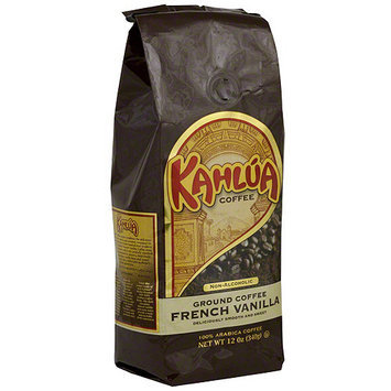 Kahlua French Vanilla Ground Coffee, 12 oz (Pack of 6)