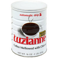 Green Mountain Luzianne Coffee Roasters Premium Blend Ground Coffee Mellowed With Chicory, 16 oz (Pack of 12)