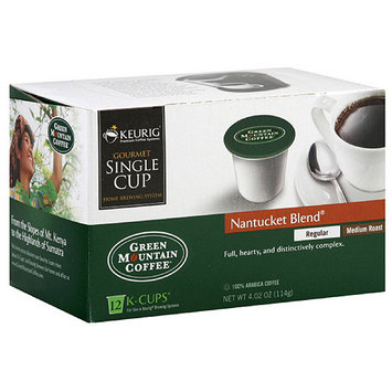 Green Mountain Coffee Roasters Nantucket Blend K-Cups Coffee, 4.02 oz, 12ct (Pack of 6)