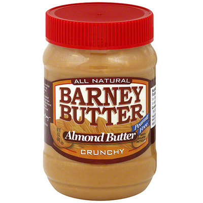 Barney Butter Crunchy Almond Butter, 16 oz (Pack of 6)
